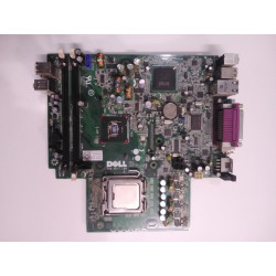 Dell G919G OptiPlex 760 Modèle: Dctr USFF socket LGA775 Motherboard