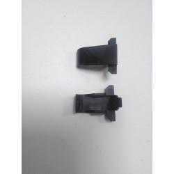 Ecran Charnières droite et gauche couvercle en plastique HP Probook 4710S-6055B0000301