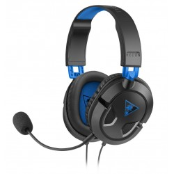 Casque Micro Turtle Beach Ear Force Recon 50P (compatible PS4 PS Vita) (Noir Bleu)