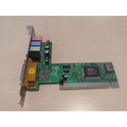 Xenta 4 Canal L-8738-4C C-Media PCI Carte Son