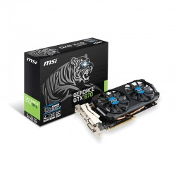 GeForce MSI GTX 970 4GD5T OC NVIDIA GeForce GTX970 PCIE 3.0 4GB GDDR5 256 Bit