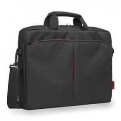 "Sacoche Ordinateur Portable We Classic Noir/Rouge 15,6"" max"