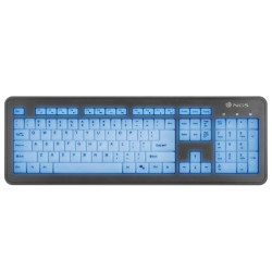 Clavier NGS lumineux USB (Noir)