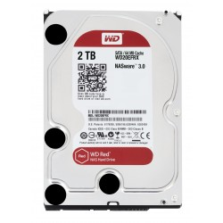 Disque Dur Western Digital 2 To (2000 Go) S-ATA 3 - Caviar Red (WD20EFRX)