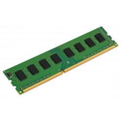 Barrette mémoire RAM DDR3 4096 Mo (4 Go) Kingston Value PC10666 (1333 Mhz) - KVR13N9S8/4