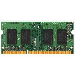 Barrette mémoire RAM SODIMM DDR3 4096Mo (4 Go) Kingston PC10666 (1333 Mhz)