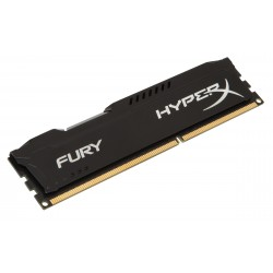 Barrette mémoire RAM DDR3 4096 Mo (4 Go) Kingston HyperX Fury BLACK PC12800 (1600 Mhz)