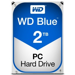 Disque Dur Western Digital 2 To (2000 Go) S-ATA 3 - Caviar Blue (WD20EZRZ)