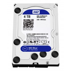 Disque Dur Western Digital 4 To (4000Go) S-ATA 3 - Caviar Blue (WD40EZRZ)