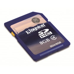 Carte mémoire Secure Digital (SD) Kingston 8 Go SDHC Class 4