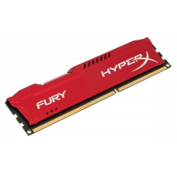 Barrette mémoire RAM DDR3 8192 Mo (8 Go) Kingston HyperX Fury RED PC12800 (1600 Mhz)