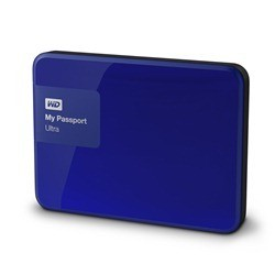 Disque dur externe Western Digital My Passport Ultra 3000 Go (3 To) USB 3.0 / 2.0 (Bleu)
