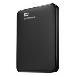Disque Dur Externe Western Digital Elements Portable 2To (2000Go) USB 3.0/ USB 2.0 - 2,5""