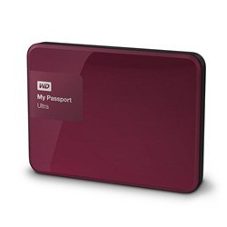 Disque dur externe Western Digital My Passport Ultra 3000 Go (3 To) USB 3.0 / 2.0 (Violet)
