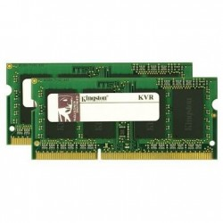 Barrette mémoire RAM SODIMM DDR3 8 Go (2x4 Go) Kingston PC10666 (1333 Mhz)