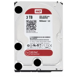 Disque Dur Western Digital 3 To (3000 Go) S-ATA 3 - Caviar Red (WD30EFRX)