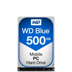 "Disque Dur portable Western Digital 2""1/2 500 Go 5400 trs S-ATA 3 - WD5000LPCX - 7mm"