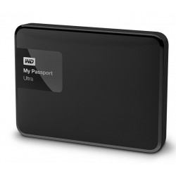 Disque dur externe Western Digital My Passport ULTRA 2000 Go (2 To) USB 3.0 / 2.0 (Noir)