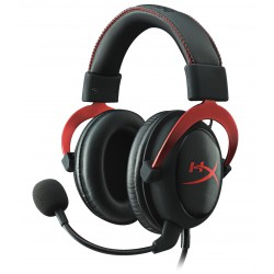 Casque Micro Kingston HyperX Cloud II Gaming Headset (Noir Rouge)