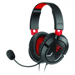 Casque Micro Turtle Beach Ear Force Recon 50 (compatible PC, Consoles, Tablettes, etc...) (Noir/Rouge)