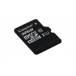 Carte mémoire Micro Secure Digital (micro SD) Kingston 32 Go SDHC Class 10