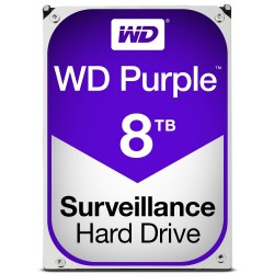 Disque Dur Western Digital 8 To (8000 Go) S-ATA 3 - Caviar Purple (WD80PUZX)
