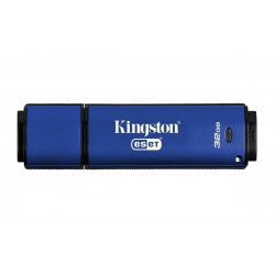 Clé USB Kingston 32 Go DataTraveler Privacy 3.0 Anti-virus USB 3.0 (AES 256 bits Eset Nod 32)