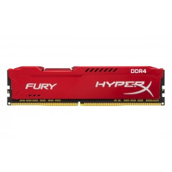 Barrette mémoire 8Go DIMM DDR4 Kingston HyperX Fury PC4-25600 (3200 Mhz) (Rouge)