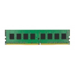 Barrette mémoire 4Go DIMM DDR4 Kingston ValueRAM PC4-19200 (2400 Mhz) (Vert)