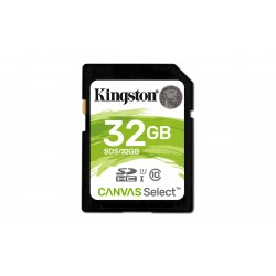Carte mémoire Secure Digital (SD) Kingston Canvas Select 32 Go SDHC Class 10
