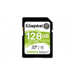 Carte mémoire Secure Digital (SD) Kingston Canvas Select 128 Go SDXC Class 10